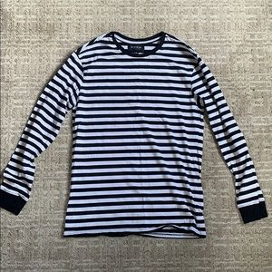 PacSun black and white striped long sleeve